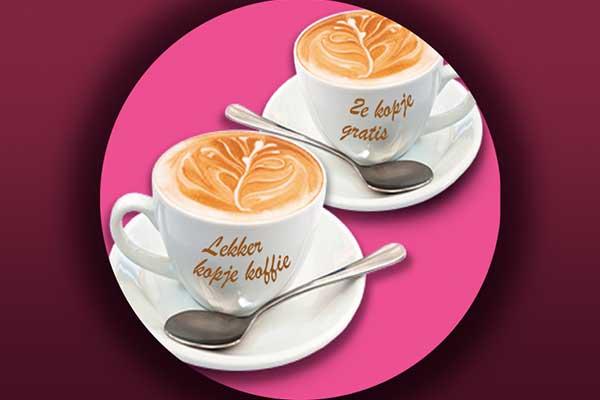 kopje koffie de Berchplaets